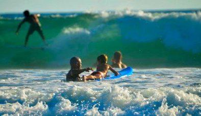 principe del pacifico learn to surf